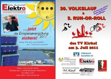 30. Volkslauf 2. run-or-roll