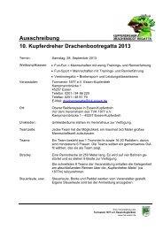 Ausschreibung (PDF) - Turnverein 1877 eV Essen-Kupferdreh