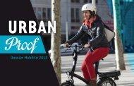 Mobilité, sélection Urban Proof - Espace Presse - BTwin