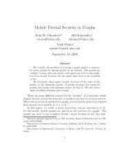 Mobile Eternal Security in Graphs - ResearchGate