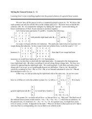 24 Solving General Systems - IMSA