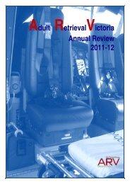 ARV Annual Review 11/12 - Ambulance Victoria