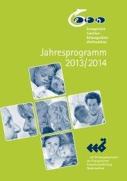 Jahresprogramm 2013/2014 - Efb-wf.de