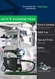 to download the Automotive Promotion brochure - Festool Power Tools