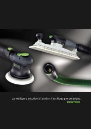 FESTOOL fr Ponçage pneumatique - ITS International Tools Service