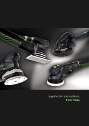 FESTOOL fr Ponçage - ITS International Tools Service