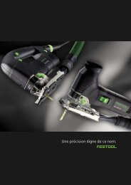 FESTOOL fr Scies sauteuses - ITS International Tools Service