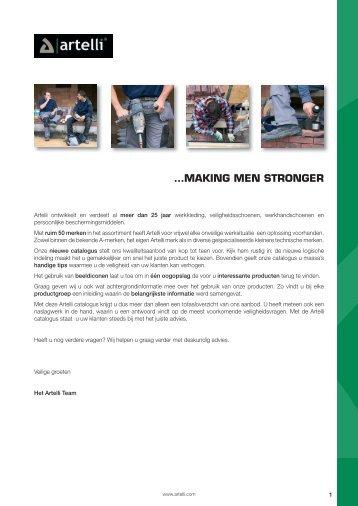 …MAKING MEN STRONGER - Artelli