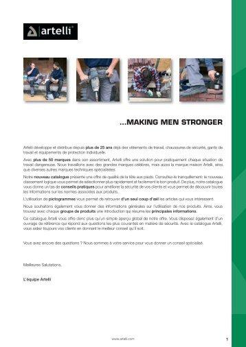 …MAKING MEN STRONGER - ITS International Tools Service