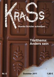Titelthema: Zuhause Titelthema: Anders sein - Alfred-Adler-Schule