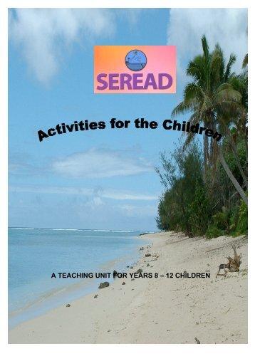 Oceans rising ? Part B. Activities for the children, years 8 - Argo