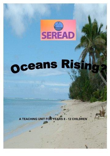 Oceans rising ? A teaching unit for years 8 - 12 children - Argo