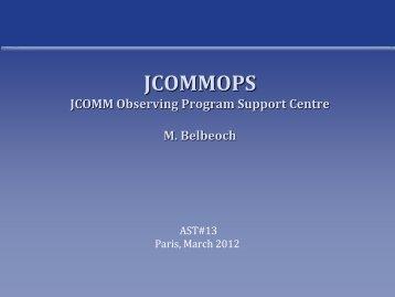 JCOMM Observing Program Support Centre - Argo