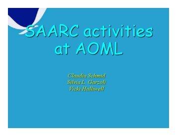 SAARC report - Argo