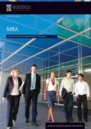 master of business administration programs business school