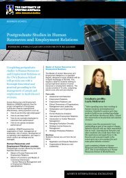 Postgraduate Studies in Human Resources and Employment ...