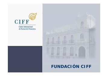 Área Entidades Financieras - Ciff