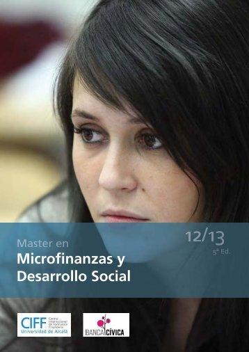 Microfinanzas 12-13.indd - Ciff