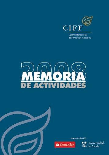 Memoria 2008 - Ciff