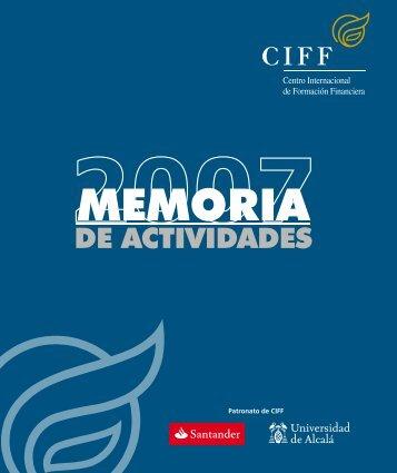 Memoria 2007 - Ciff
