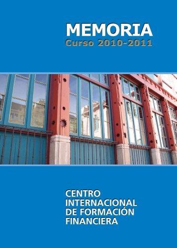 Memoria Curso 2010-2011 - Ciff