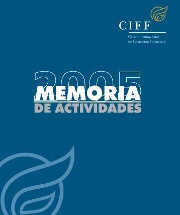 Memoria 2005 - Ciff