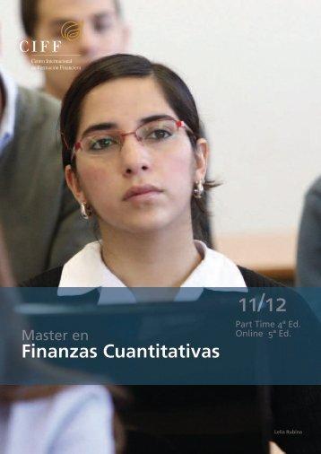 Finanzas Cuantitativas - Ciff