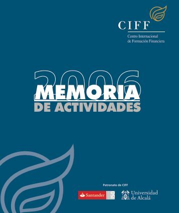 Memoria 2006 - Ciff