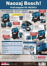 Naozaj Bosch! Profi magazín 05-08/2013 - Profi náradie