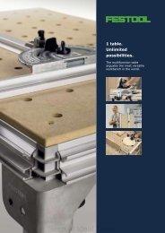Festool MFT3 brochure - Ideal Tools