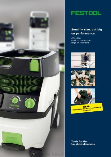 Festool CT MIDI brochure - Ideal Tools
