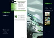 Festool CS 50 Flyer brochure - Ideal Tools