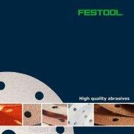 Festool Abrasives Guide - Ideal Tools