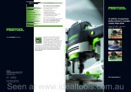 The new router OF 1400 - Ideal Tools