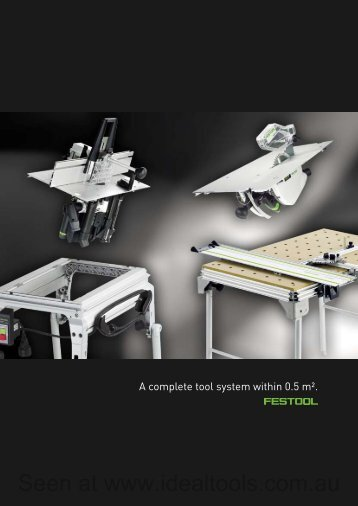 + + Compact module system and Multifunction table - Ideal Tools