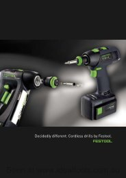 Drilling and fastening - Ideal Tools