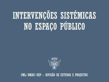 Intervenções Sistémicas no Espaço Público