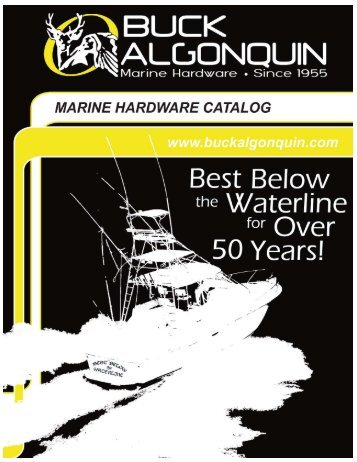 Buck Algonquin Catalog 2011 (pdf) - Jamestown Distributors