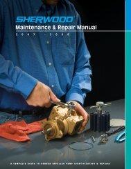 Sherwood Maintenance and Repair Manual - Jamestown Distributors