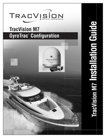 TracVision M7 GyroTrac Configuration - Jamestown Distributors