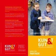 Ideen für Partner - KUNST & GUT >> Startseite