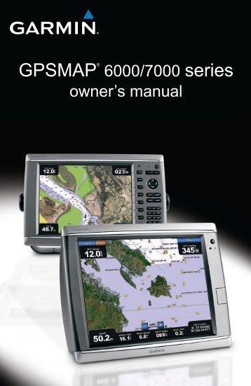 Garmin GPSMAP 6012 User Manual, English - GPS City Canada
