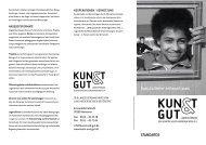 Standards - KUNST & GUT >> Startseite