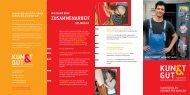 Infos für Schulen - KUNST & GUT >> Startseite