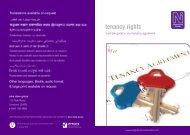 tenancy rights - Dane Group