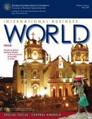 INTERNATIONAL BUSINESS - FIU College of Business - Florida ...
