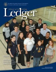 School of Accounting - FIU College of Business - Florida ...