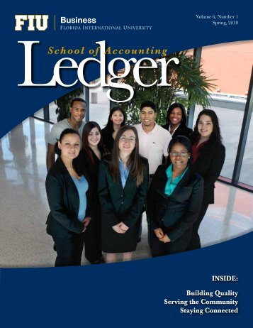 Volume 6, Number 1 Spring 2010 - FIU College of Business - Florida ...