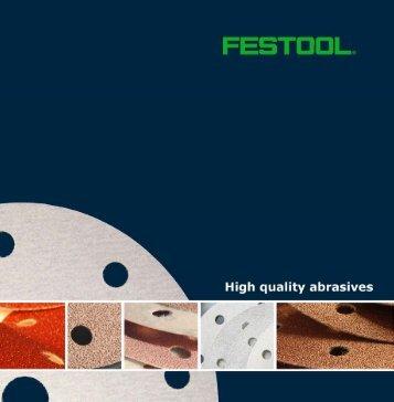 Festool_Abrasive Brochure - Anderson Plywood