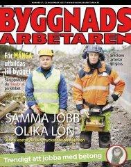 Nr 17 2007 (PDF 1,4 MB) - Byggnadsarbetaren